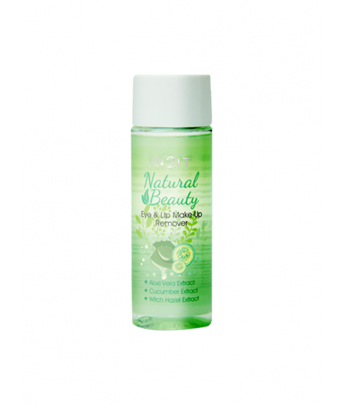 Natural Beauty Eye & Lip Make Up Remover
